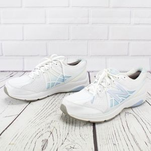 New Balance Shoes - New Balance 847v2 White Blue Walking Sneakers 11